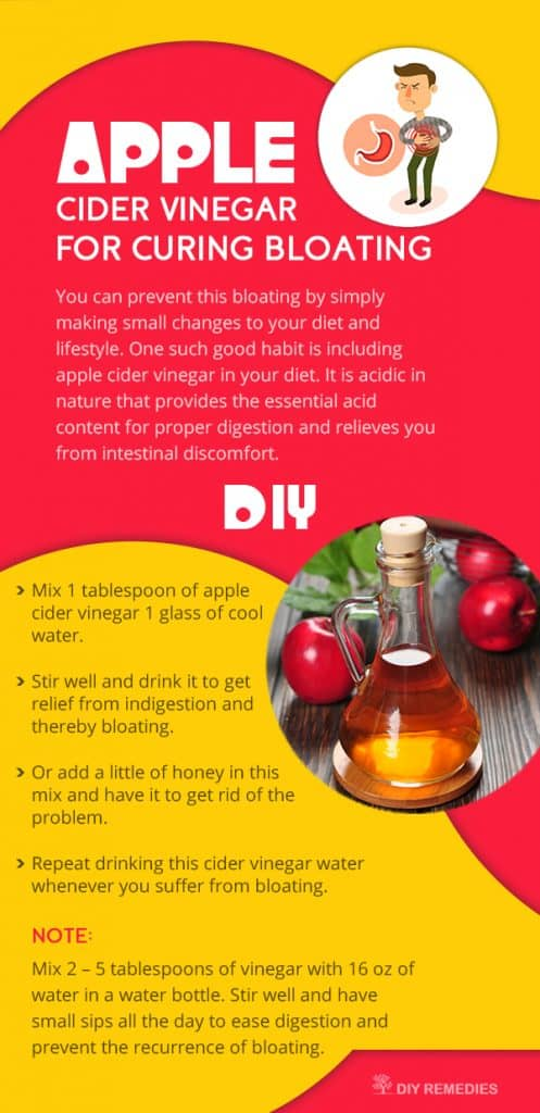 Apple-Cider-Vinegar-for-Curing-Bloating