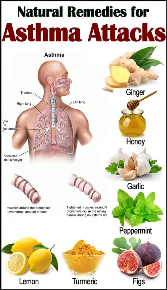 Natural Remedies for Asthma Attacks