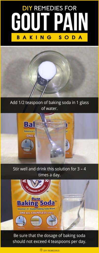 Baking Soda For Gout Pain