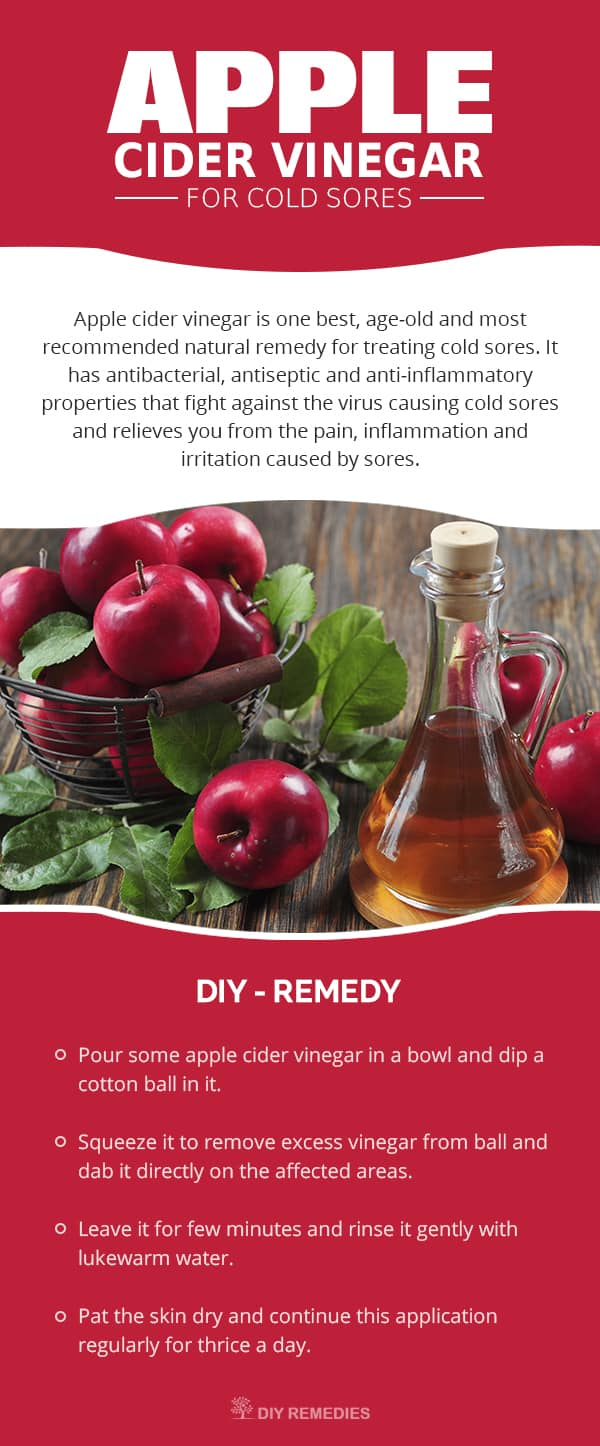 Apple Cider Vinegar for Cold Sores