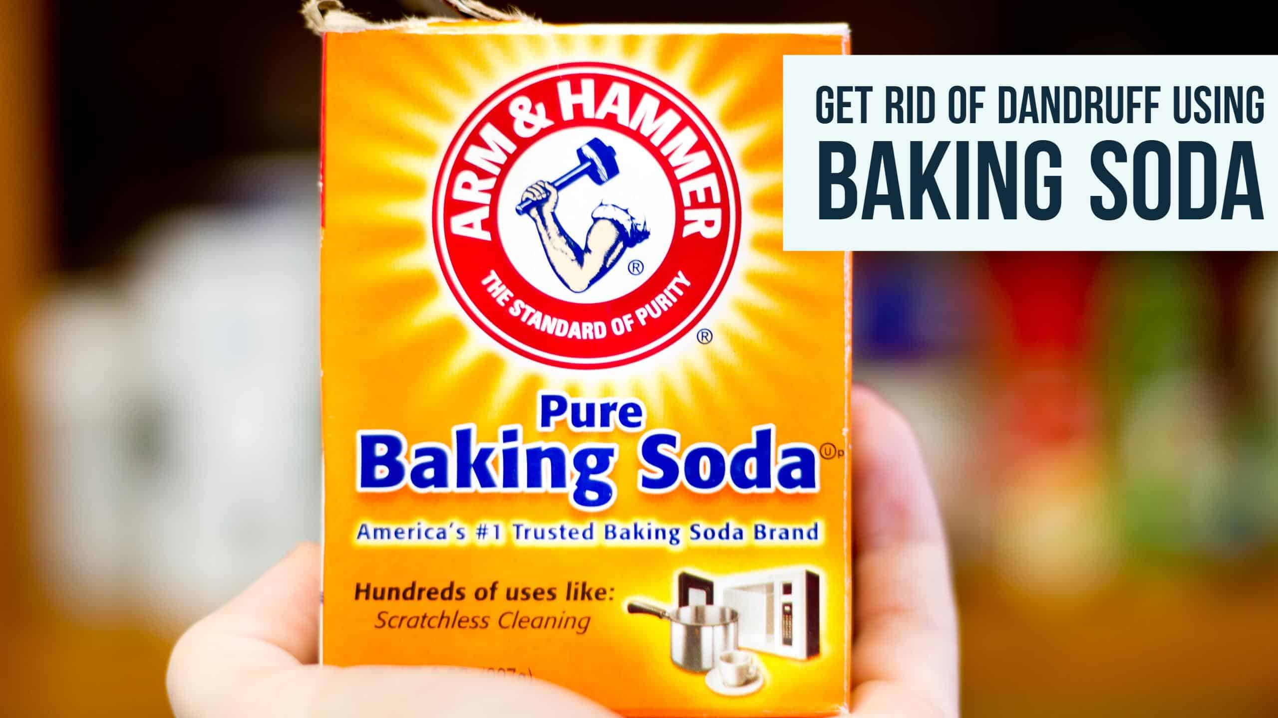 How To Get Rid Of Dandruff Using Baking Soda