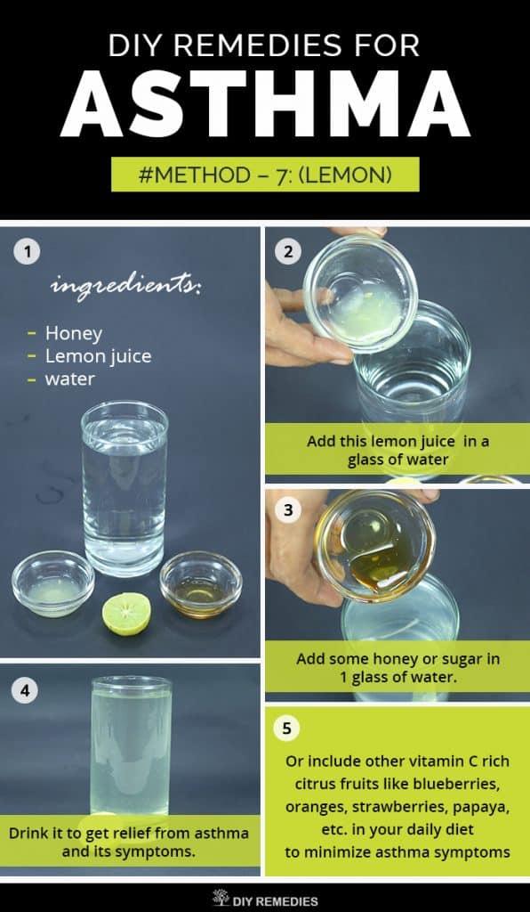 Lemon Remedies for Asthma