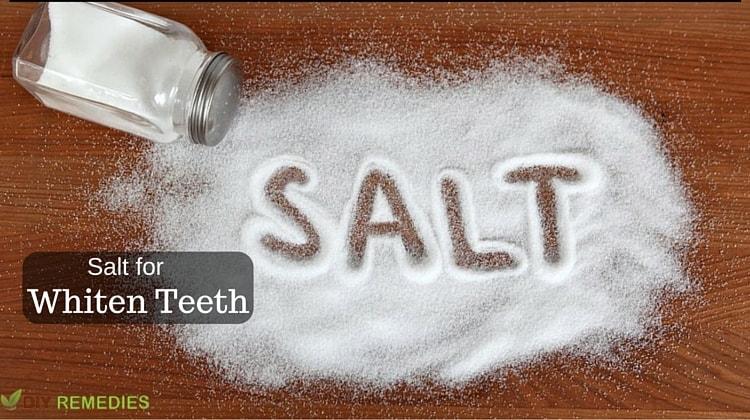 Salt For Whiten Teeth