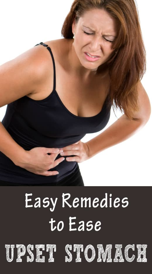 Remedies for Upset Stomach