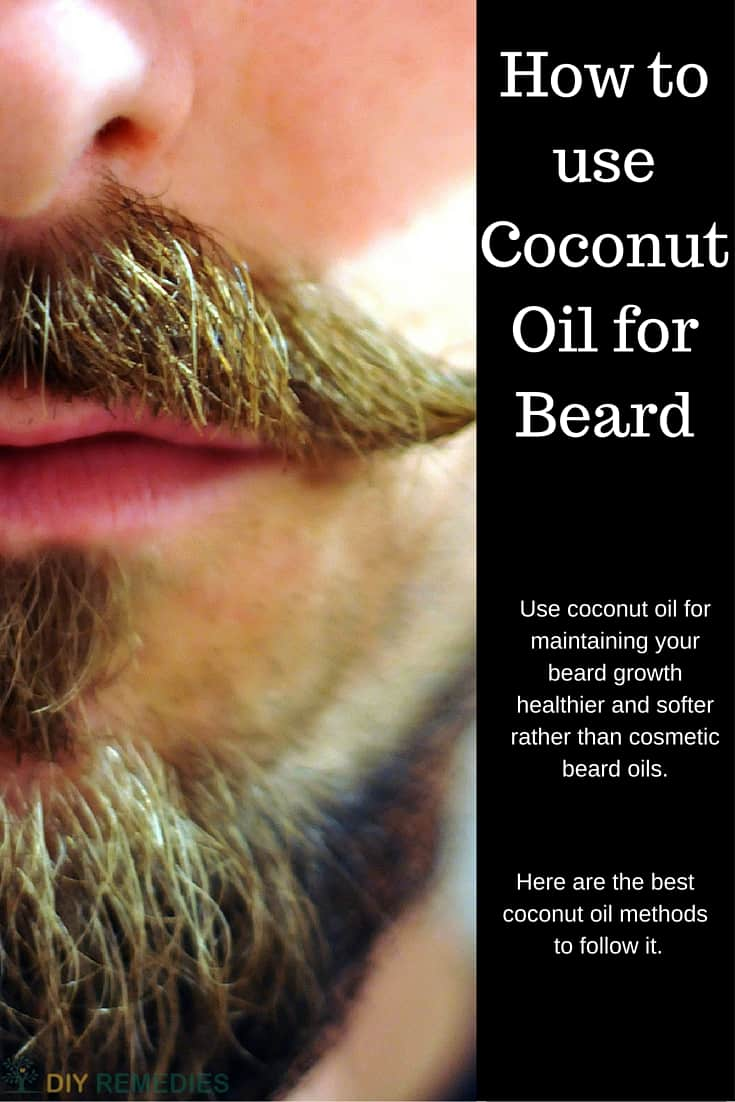 How To Apply Coconut Oil To Your Beard - How to use coconut oil on hair