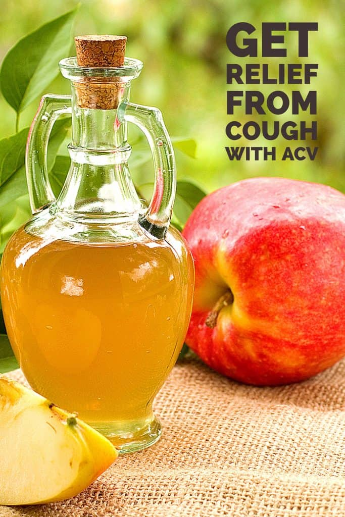 Get Relief from Cough with Apple Cider Vinegar