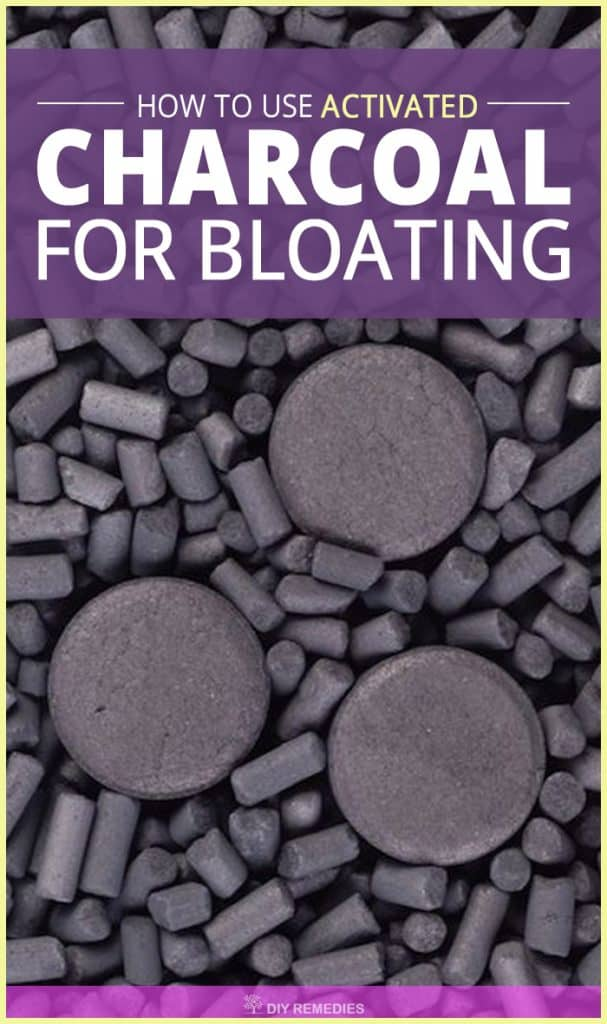how to use activated charcoal for bloating