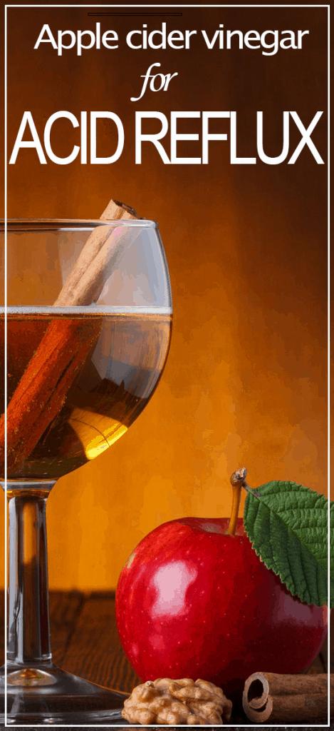 apple cider vinegar for acid reflex