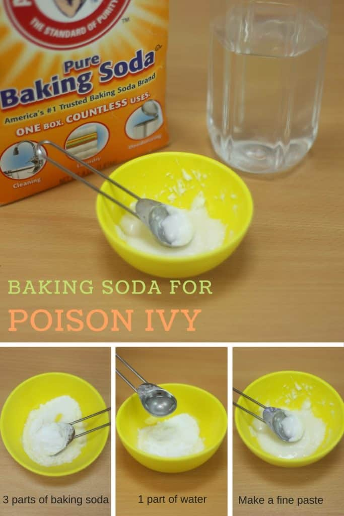 Baking Soda For Poison Ivy