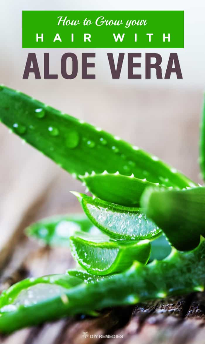 How To Grow Your Hair With Aloe Vera