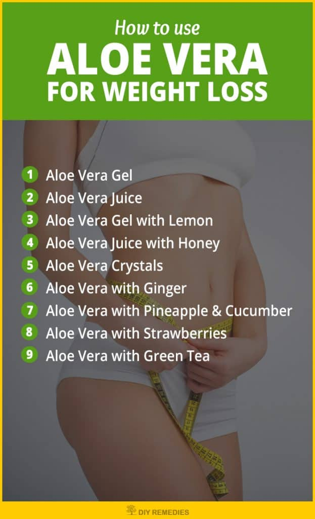 Aloe Vera for Losing Weight