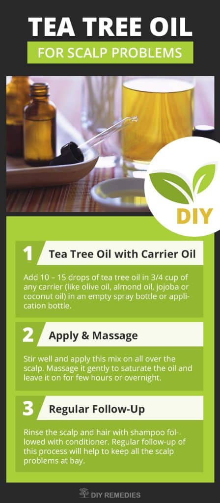 Tea Tree Oil for Scalp Problems