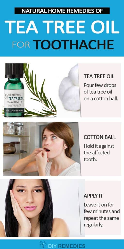 Tea Tree Oil Remedies for Toothache