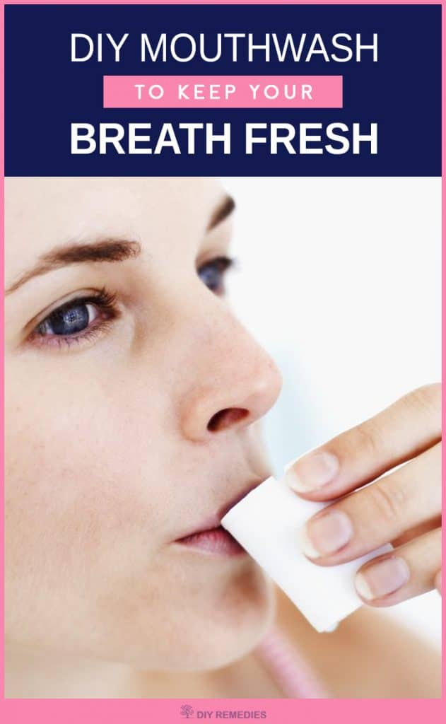 DIY Mouthwash to Keep your Breath Fresh