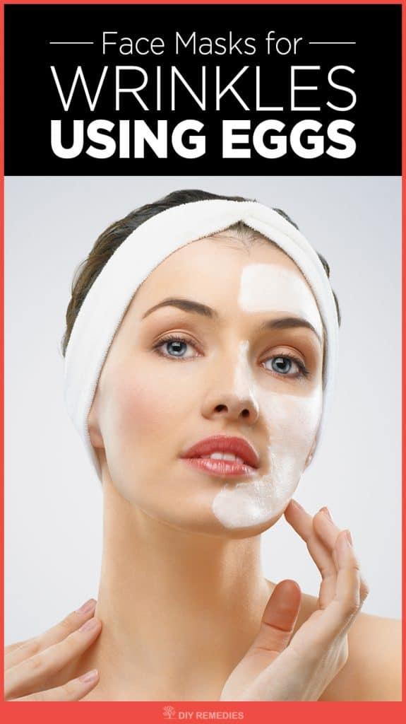 Face Masks for Wrinkles using Eggs