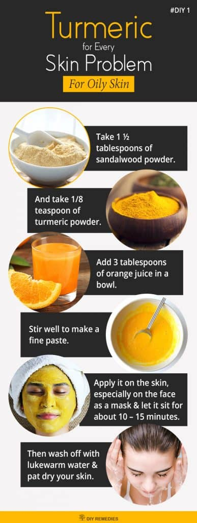 Turmeric for Oil Skin