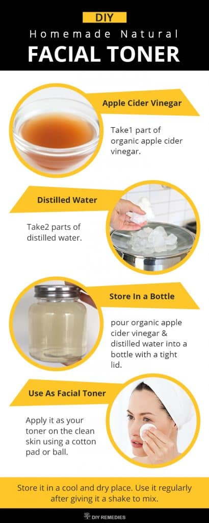 DIY Homemade Natural Facial Toner
