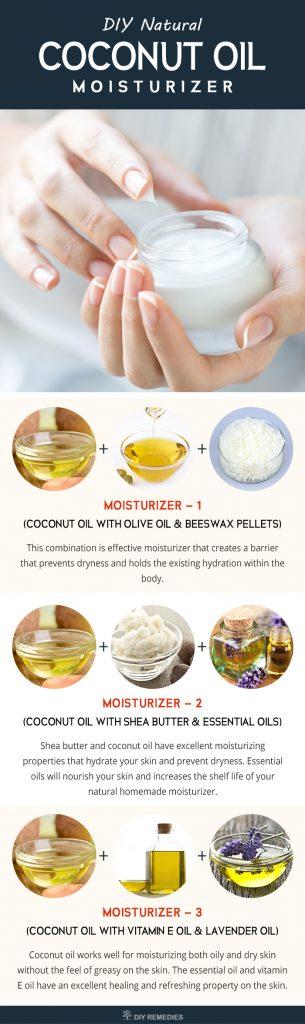 DIY Coconut Oil Skin Moisturizer