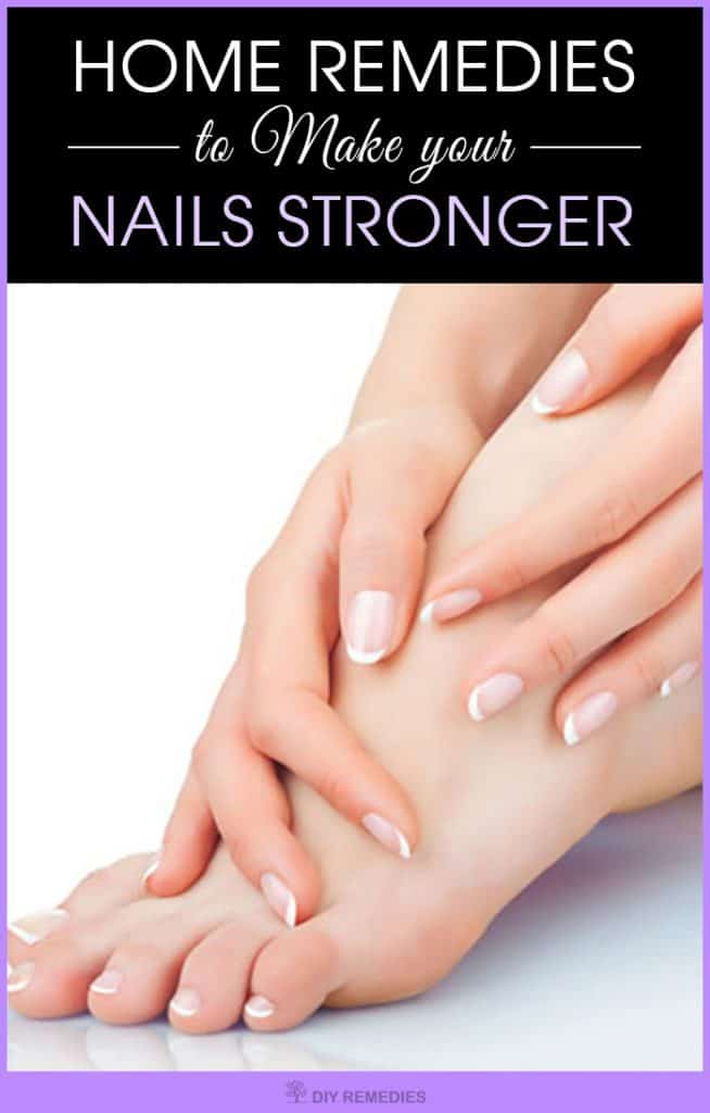Natural Home Remedies For Stronger Nails