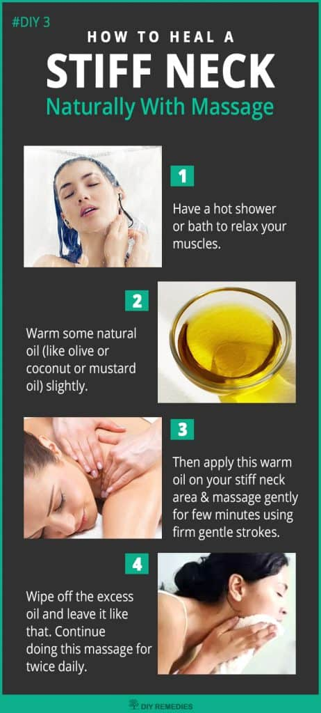 How to Heal A Stiff Neck Naturally