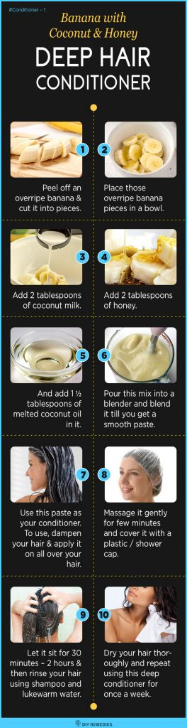 Homemade Natural Deep Hair Conditioner