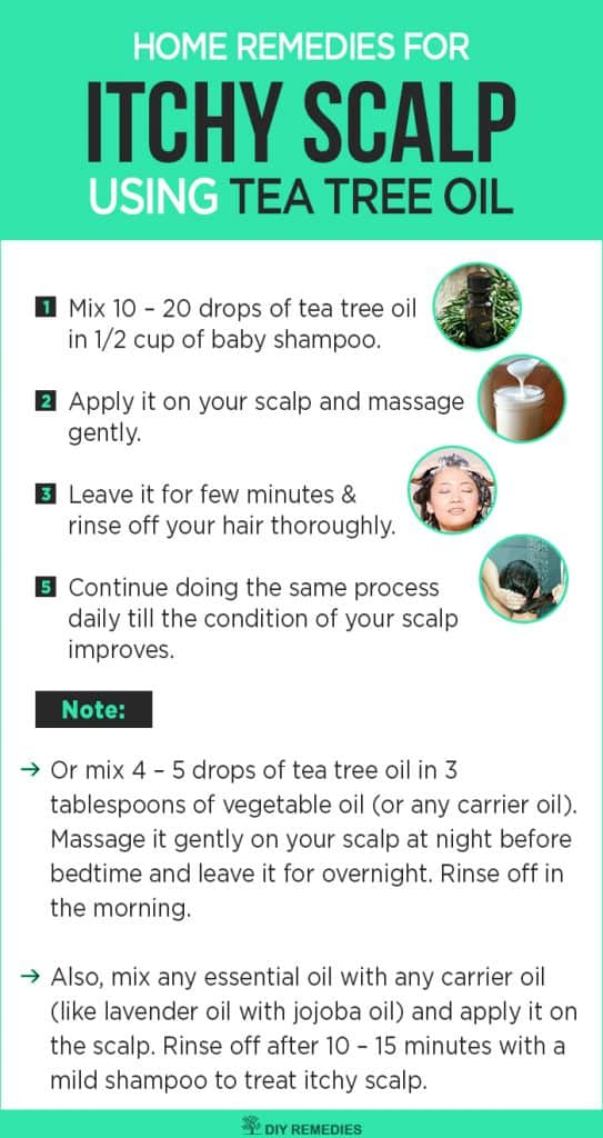 Tea Tree Oil Remedies for Itchy Scalp