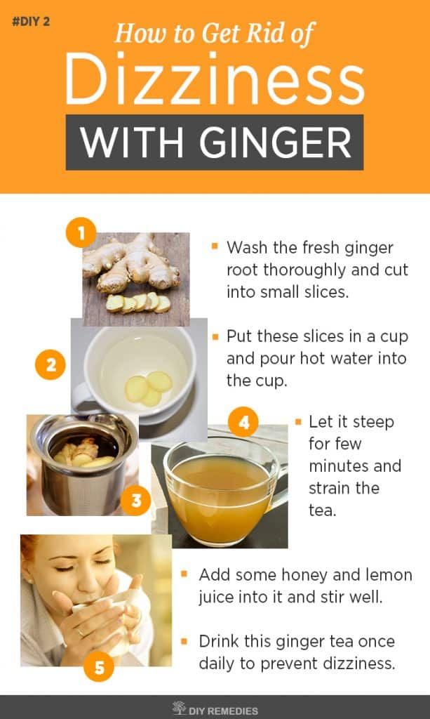 Ginger Remedies for Dizziness