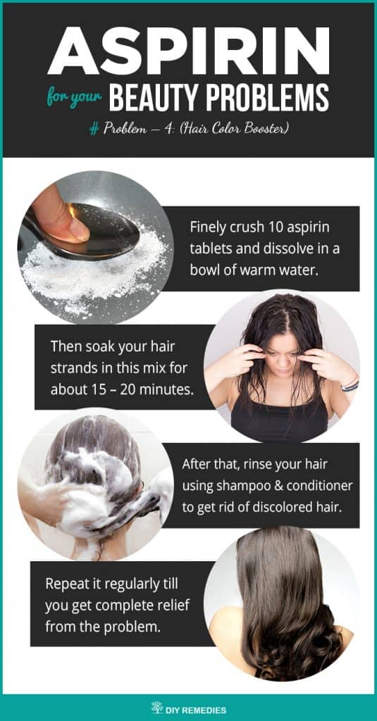 Aspirin for your Hair Color Booster