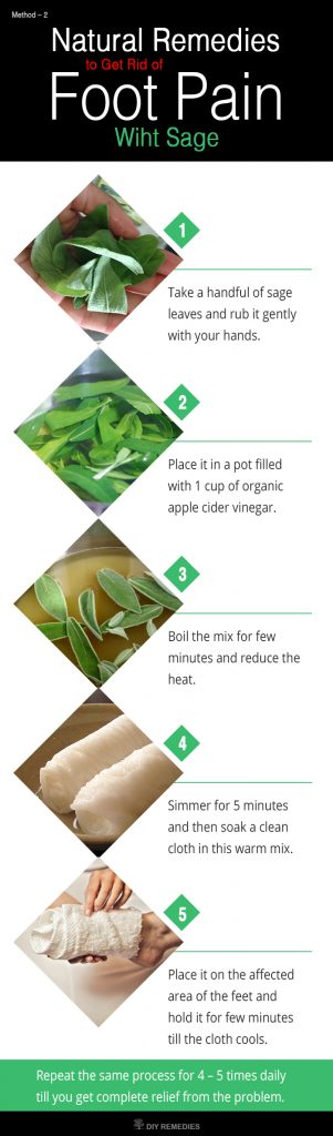 Sage Remedies for Foot Pain