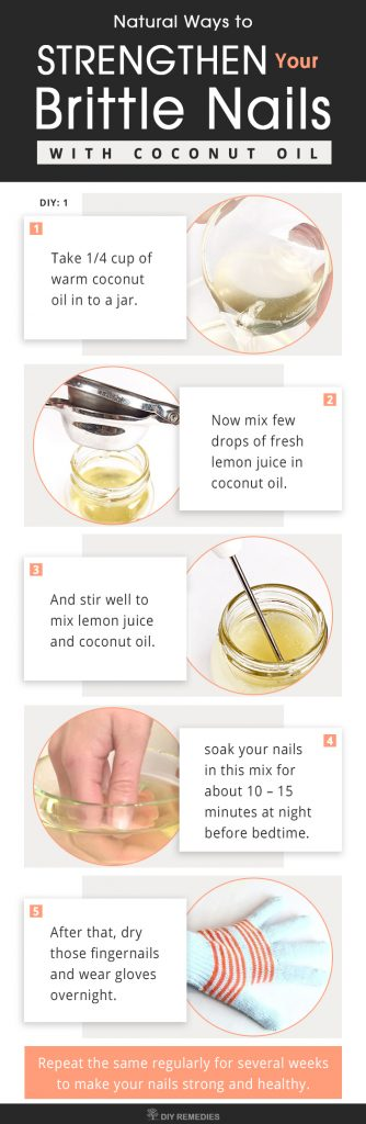 Coconut Oil Remedies for Brittle Nails