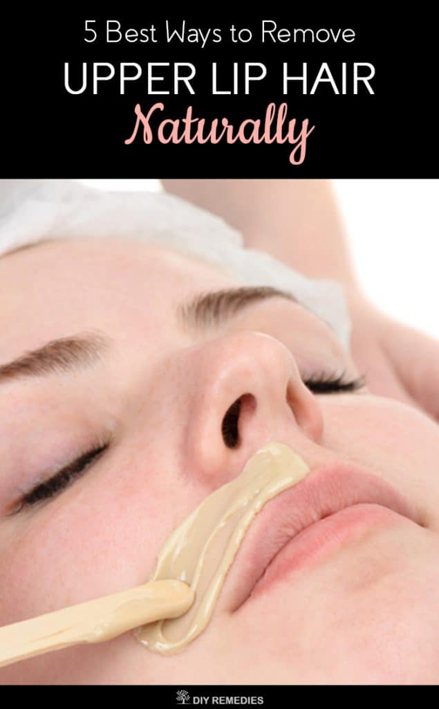 Natural Ways To Remove Upper Lip Hair