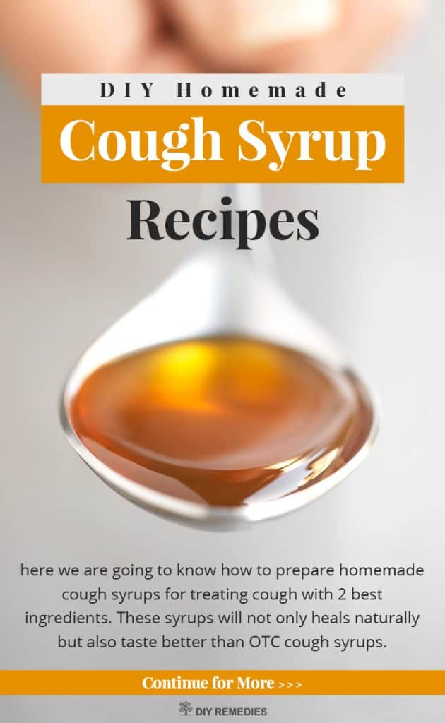 DIY Homemade Cough Syrup Recipes