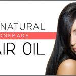 DIY Natural Homemade Hair Oil