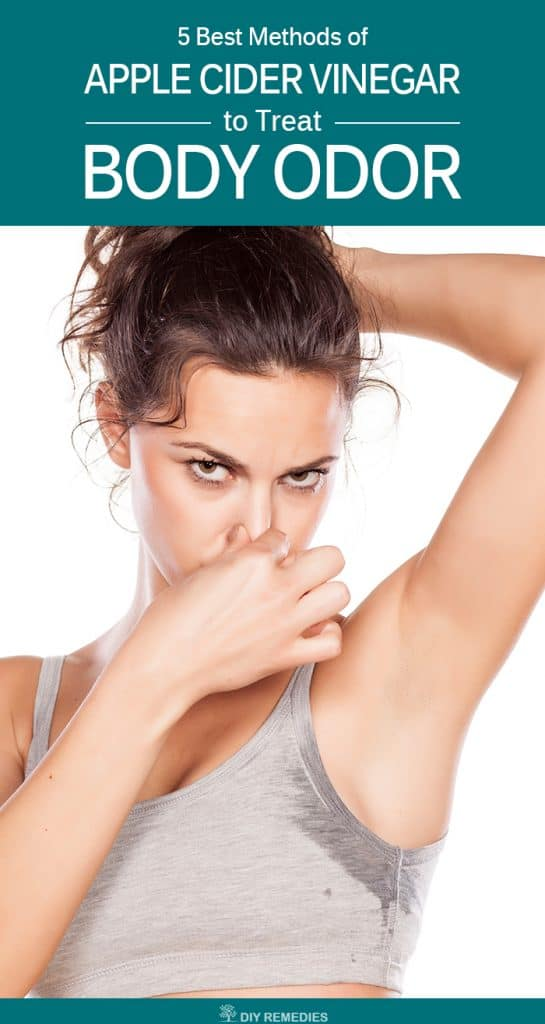 How to use Apple Cider Vinegar for Body Odor