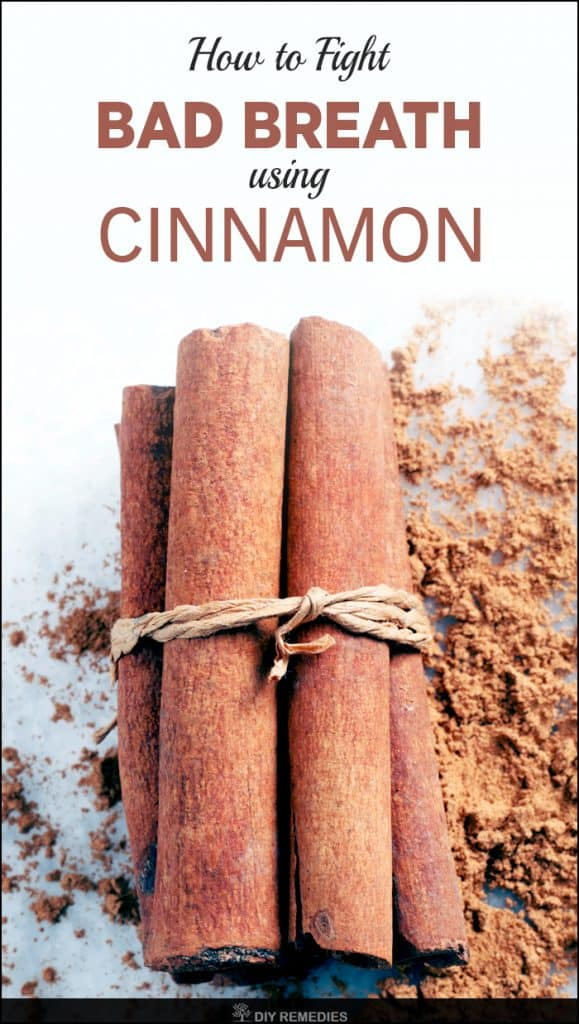 How to use Cinnamon for Treating Bad Breath