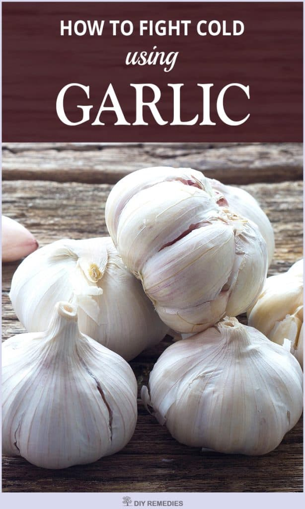 How to use Garlic for Treating Cold