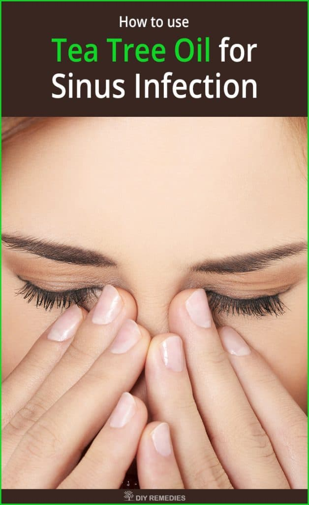 How is Tea Tree Oil used for Sinus Infection