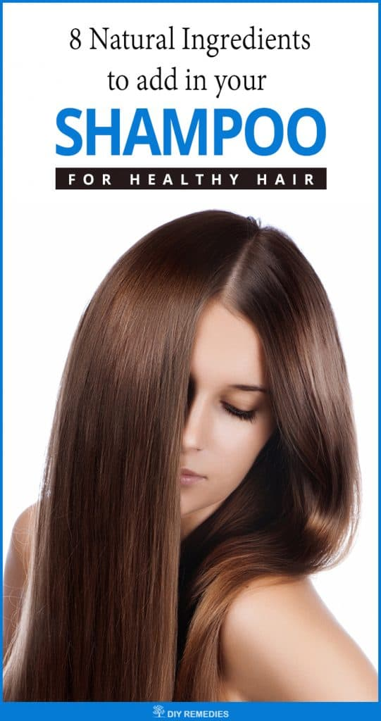 Natural Ingredients to be added in your Shampoo for Healthy Hair