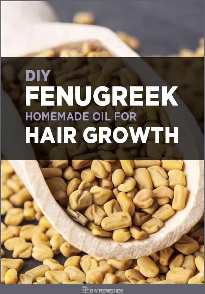 DIY Fenugreek Homemade Oil For Hair Growth