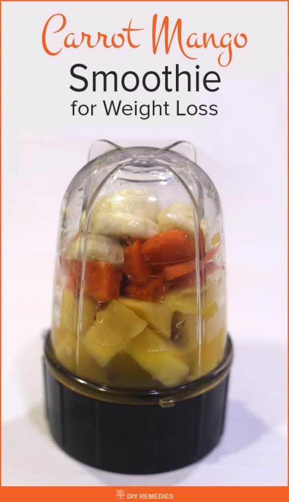 Carrot Mango Smoothie for Weight Loss