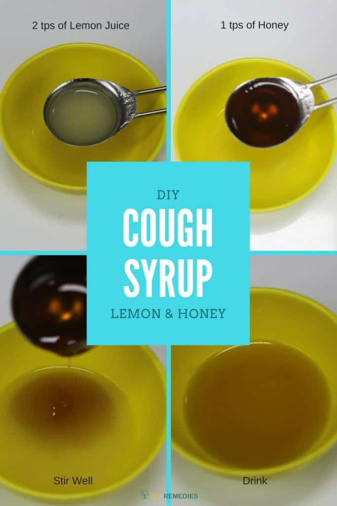 DIY Lemon and Honey Cough Syrup