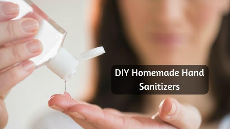 DIY Homemade Hand Sanitizer Recipes