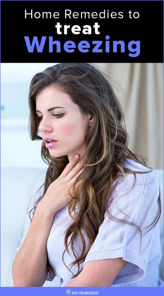 Home Remedies to treat Wheezing