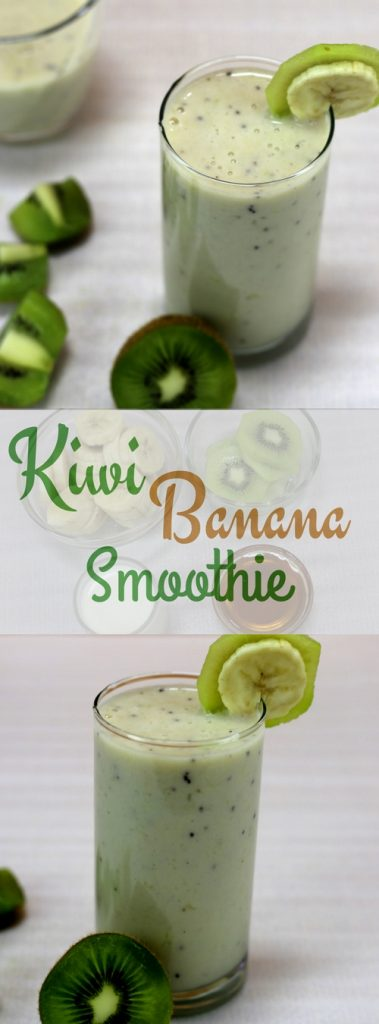 Kiwi Banana Smoothie for Weight Loss