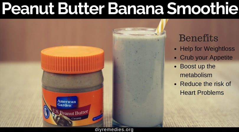 Peanut Butter, Banana, and Flax Smoothies