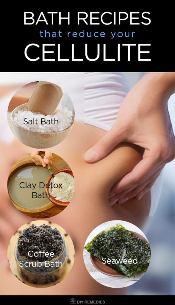 DIY Bath Recipes that reduce your Cellulite