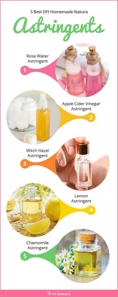 5 Best DIY Homemade Natural Astringents