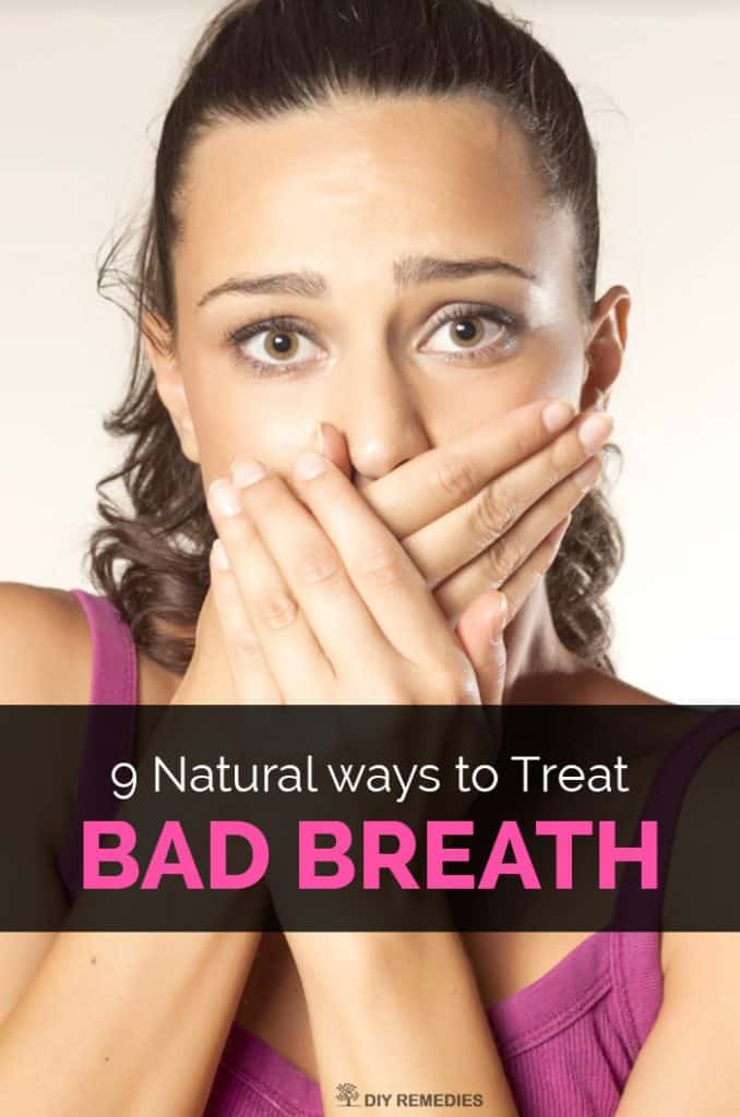Natural ways to Treat Bad Breath
