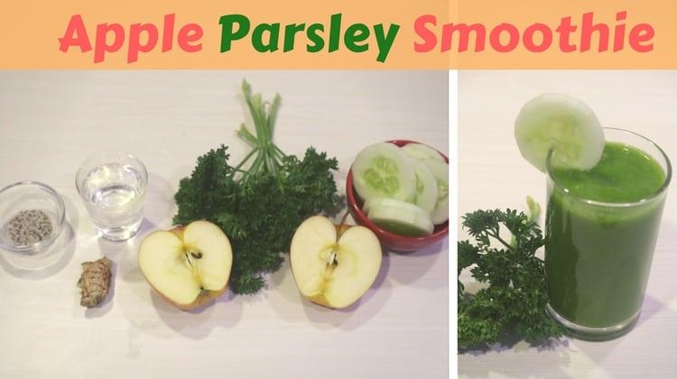 Apple Parsley Smoothie