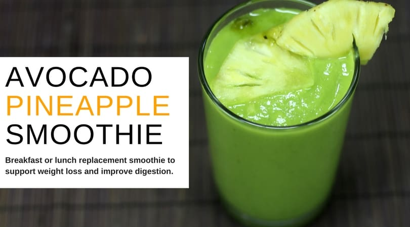 Avocado Pineapple Smoothie